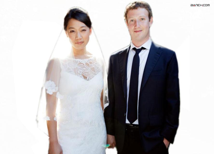 ازدواج مارک زاکربرگ