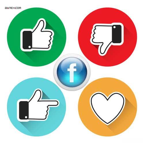 آیکون فیسبوک