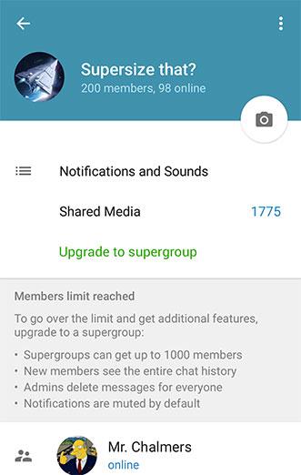 تلگرام مسنجر محبوب ایرانی ها