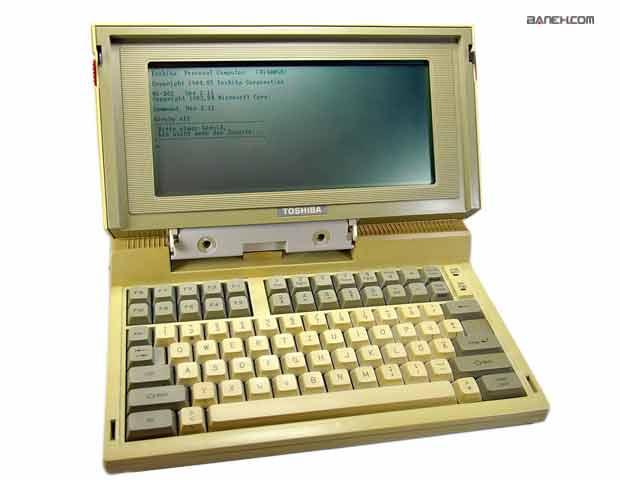 محصولات اولیه ی شرکت توشیبا