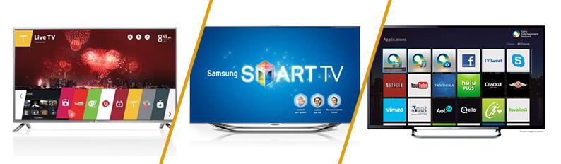 سیستم عامل های تلویزیونهای هوشمند