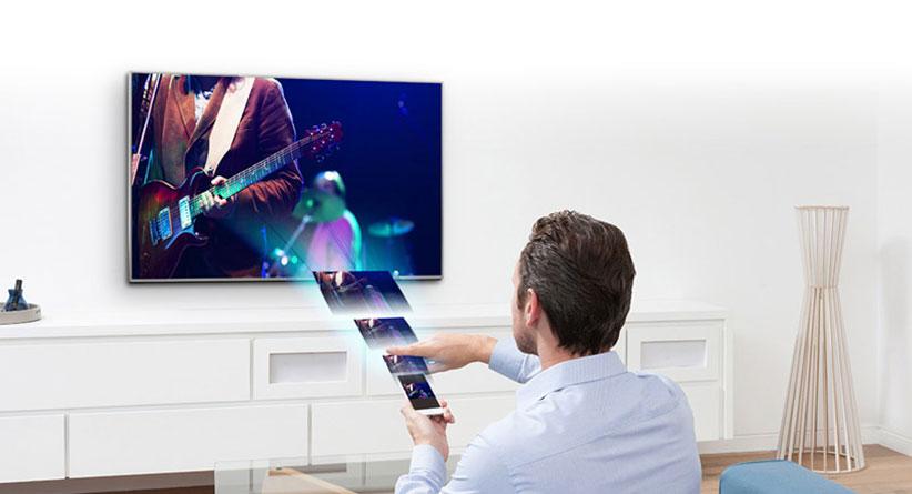 تلویزیون 49 اینچ فورکی و هوشمند پاناسونیک 49DDX400