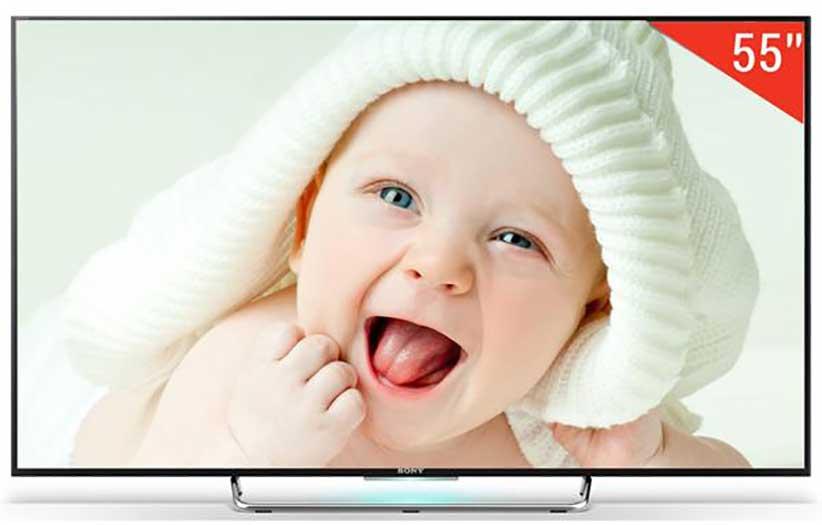 تلویزیون 55 اینچی سه بعدی سونی 55W800C-3D