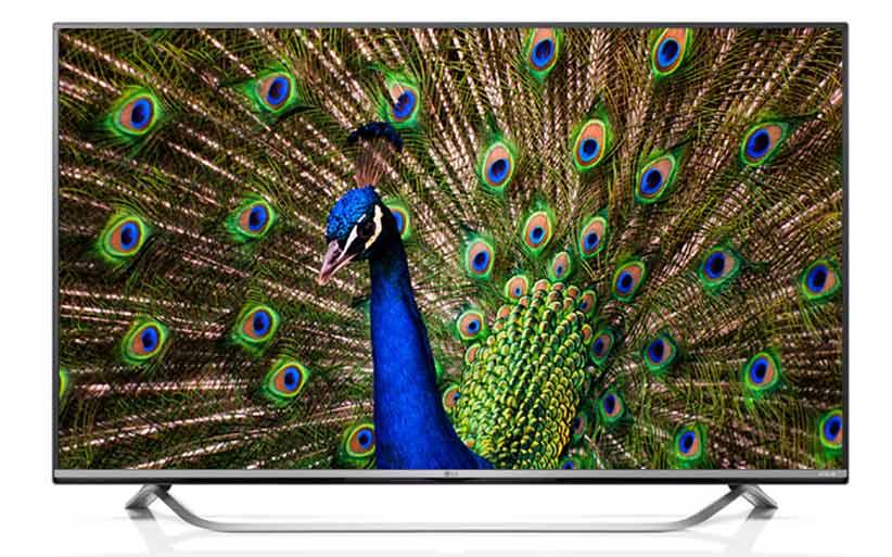 تلویزیون هوشمند ال ای دی 55 اینچ ال جی 55UF770-v