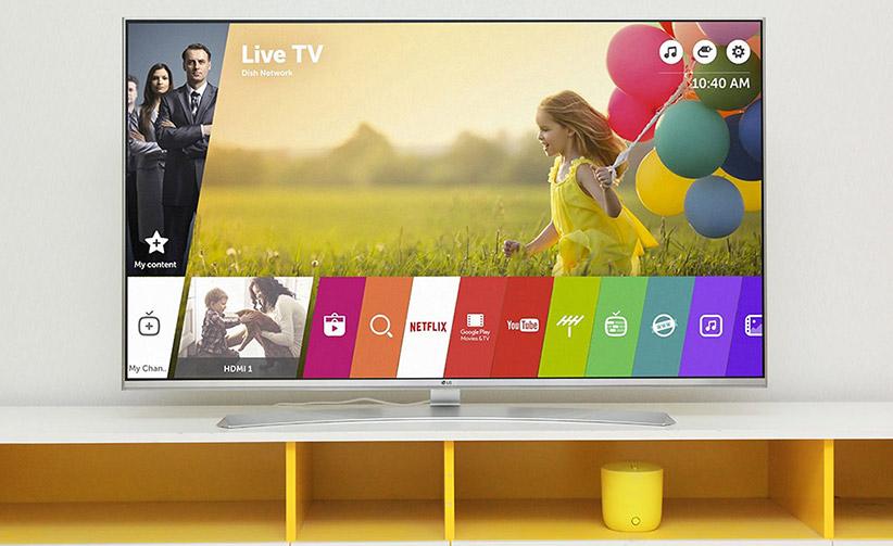 تلویزیون هوشمند 4K ال ای دی 55 اینچ ال جی LG 55UH850T