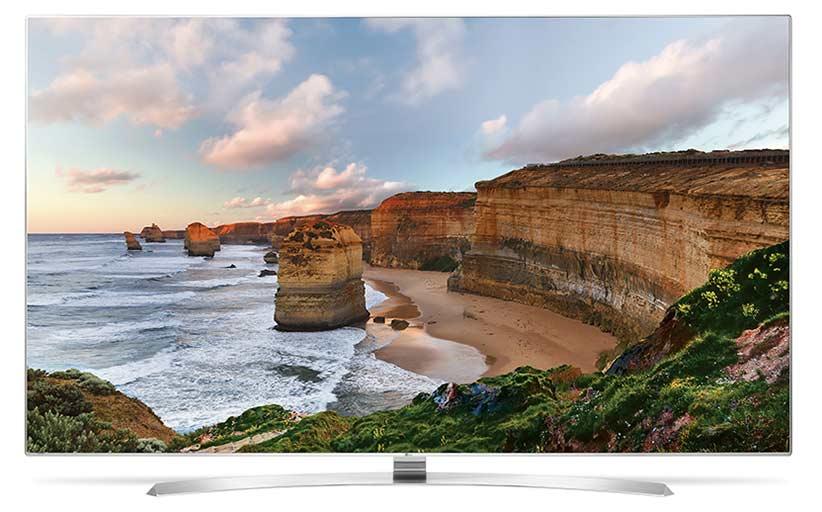 تلویزیون الولترا اچ دی هوشمند ال ای دی ال جی LG 55UH850-V