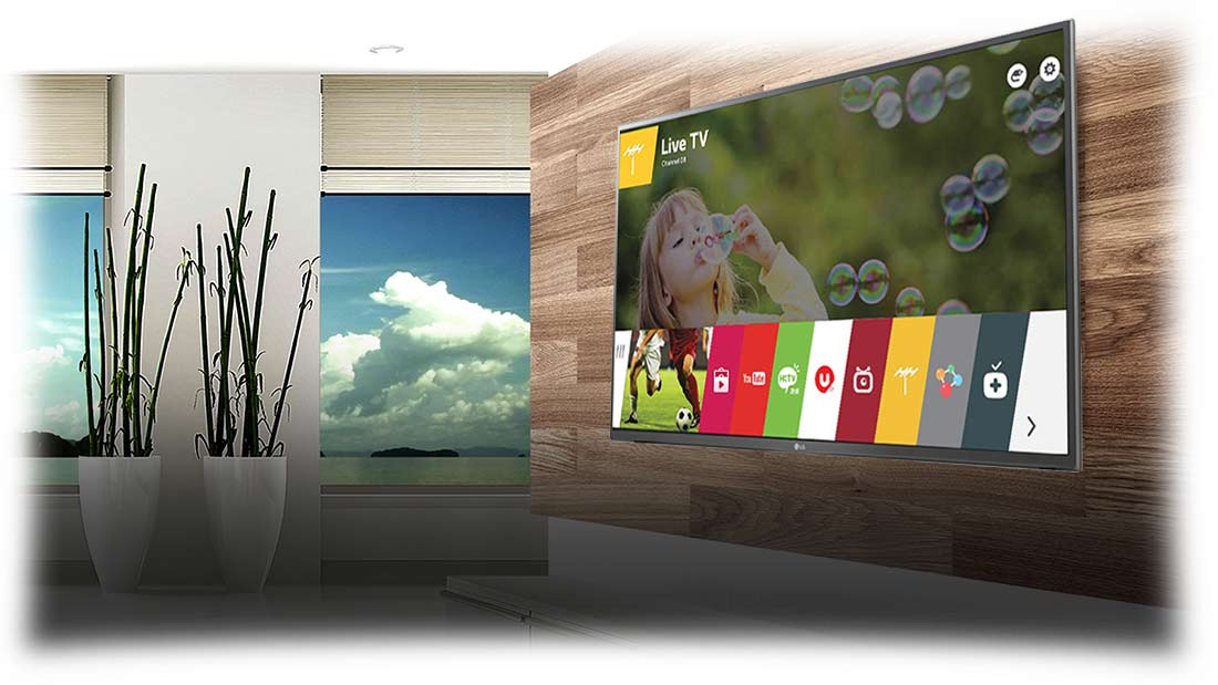 تلویزیون هوشمند سه بعدی ال ای دی ال جی LG 55lf6500
