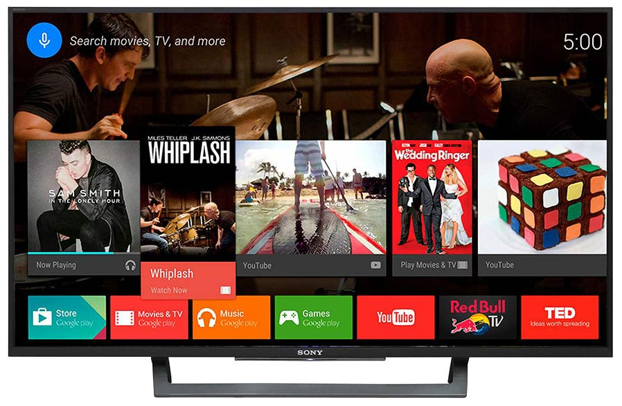 تلویزیون هوشمند سونی 43 ایکس 8000 دی