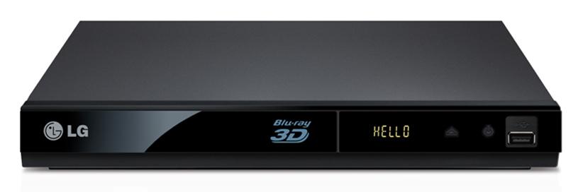 دی وی دی پلیر سه بعدی پورت اینترنت ال جی DVD Blu ray 3D LG BP325