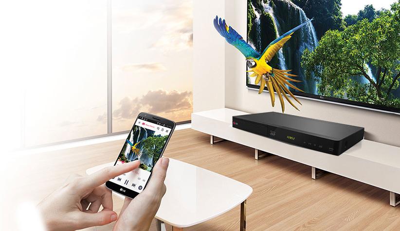 دی وی دی پلیر ال جی LG BP425 Smart DVD Blu-ray Player