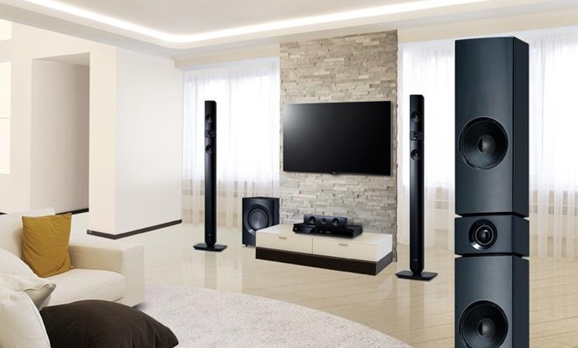 سینما خانگی هوشمند ال جی LG 1200W 5.1CH SMART HOME THEATRE 7530TB