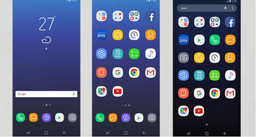 ویژگی های رابط کاربری Samsung experience